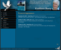 Kathleen Barry, Author site