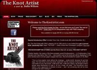 The Knot Artist, Author Book Site