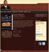 The Lost Testament - Author Website