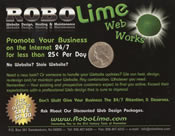 RoboLime Post Card Front